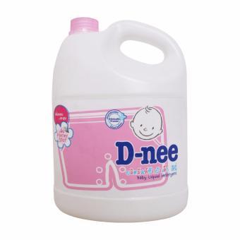 Nước giặt xả D-nee hồng 3L