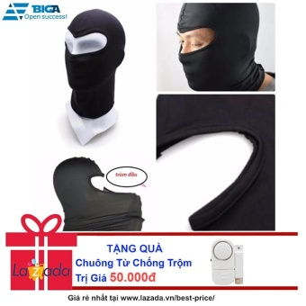 Khăn Trùm Mặt Nạ Đi Phượt Ninja + Tặng Chuông Từ Chống Trộm