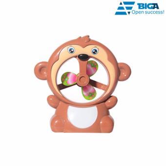 Khỉ Con Dễ Thương Kiêm Quạt Bàn US04514 (Màu Sắc Ngẫu Nhiên)