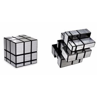 Rubik Gương Rubiks Mirror Blocks Bump Cube (Bạc)