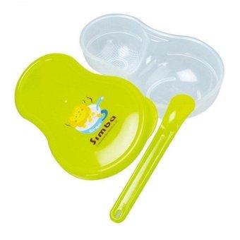 Bộ dụng cụ nghiền thức ăn Simba có nắp đậy cho bé