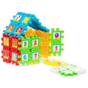 Bộ 2 đồ chơi Hình vuông diệu kì HVDK - 40 CT