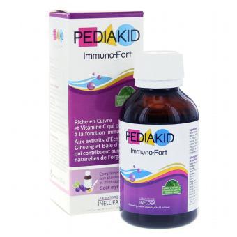 Pediakid Immuno-Fort Tăng Cường Khả Năng Miễn Dịch 125ml