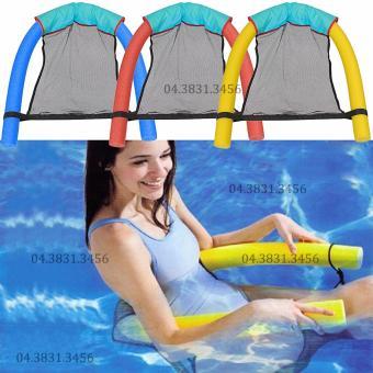 Ghế phao bơi đa năng Clever Mart (Xanh dương)