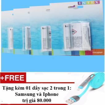 Bộ lọ keo sửa chữa INTEX 59632 + Tặng 01 dây sạc điện thoại 2 trong 1 cho Iphone và Samsung