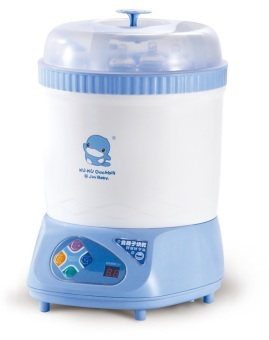 Máy tiệt trùng bình sữa và sấy khô Kuku Ku9019 (Trắng Xanh)