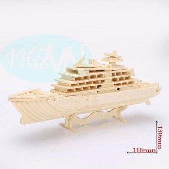 Bộ xếp hình 3D du thuyền