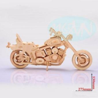 Bộ xếp hình 3D xe máy 02
