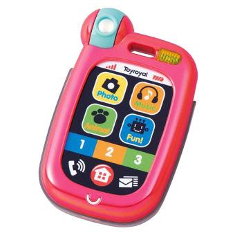 Đồ chơi treo xe đẩy Smartphone Toyroyal 114022 (Hồng)