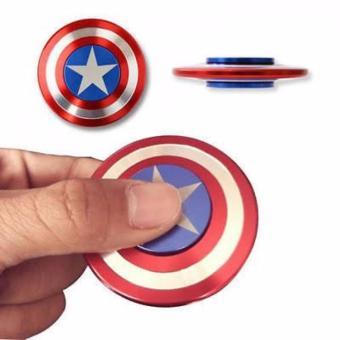 Con Quay Hand Spinner Captain America - Hàng nhập khẩu