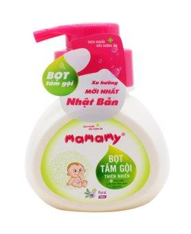 Bọt tắm gội trẻ em thiên nhiên Mamamy 400g