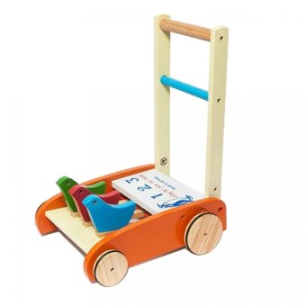 Xe tập đi bằng gỗ cho bé Song Son SS1