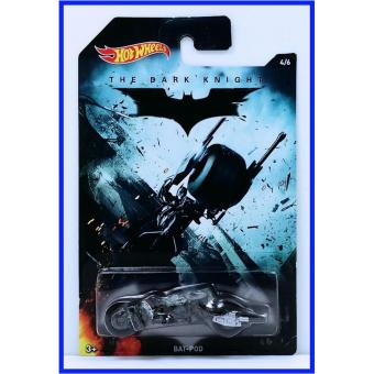 Xe mô hình tỉ lệ 1:64 Hot Wheels The Dark Knight Bat-Pod