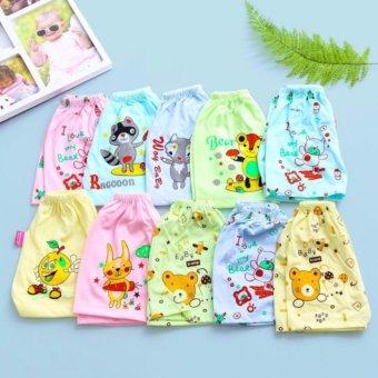 Combo 10 quần đùi cotton in hình ngộ nghĩnh cho bé Dma store