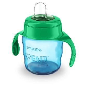 Bình tập uống Philips Avent nhiều màu 200ml cho bé trên 6 tháng 551.00(Hồng)
