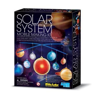 Đồ chơi khoa học- Hệ mặt trời di động phát sáng