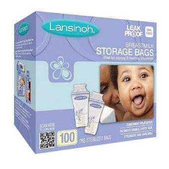 Hộp 100 túi trữ sữa Lansinoh