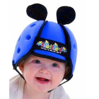 Mũ bảo hiểm cho bé tập bò (Xanh ngọc)