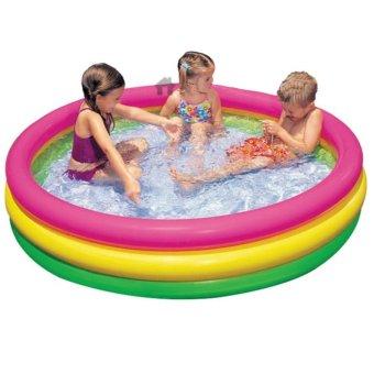 Bể bơi phao 3 tầng cho bé 86x25cm