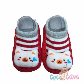 Giày tập đi cho trẻ sơ sinh - nhiều hình ngộ nghĩnh
