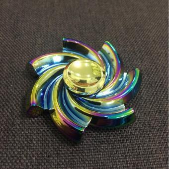 Figet Spinner đa sắc hình soắn ốc giải trí giảm stress cho Người Lớn và Trẻ Em