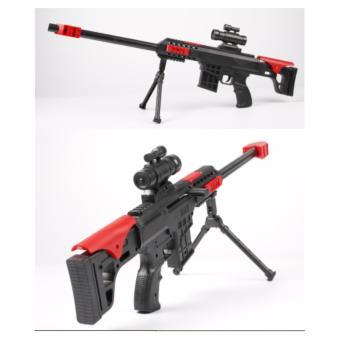 Súng bắn đạn nước và đạn xốp, ống ngắm laser