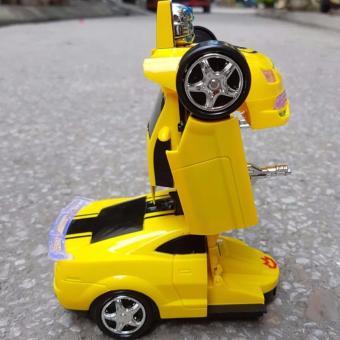 Xe ô tô biến hình siêu nhân Transformer Bibo Kids 07