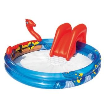Bể bơi cầu trượt hình rắn Bestway 53033