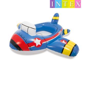 Phao bơi xỏ chân hình máy bay cho trẻ em Intex (màu xanh)