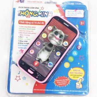 Điện thoại MEO TOM cảm ứng cho bé học tập(Pink)