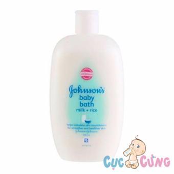 Sữa tắm chứa sữa và gạo Johnson Baby 500ml