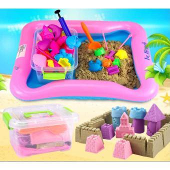 Bộ đồ chơi khuôn cát nặn tăng khả năng sáng tạo cho bé