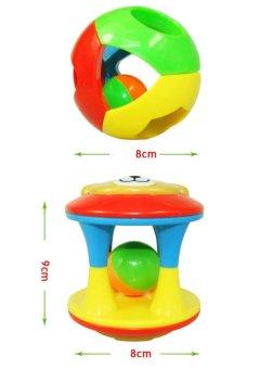 Bộ đồ chơi Lục Lạc tập bò 02 món cho bé