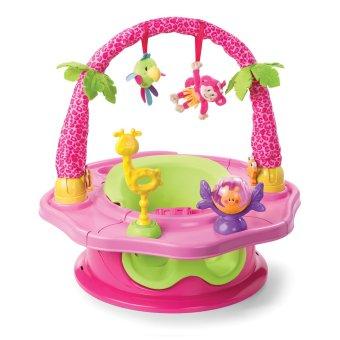 Ghế tập ngồi 3 giai đoạn có thanh đồ chơi Summer Infant SM13305 (Hồng)