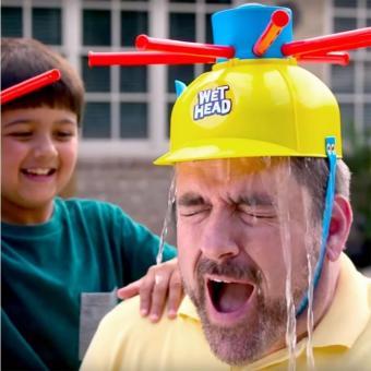 Trò Chơi Thách Ướt Đầu - Wet Head Challenge Game(Vàng)