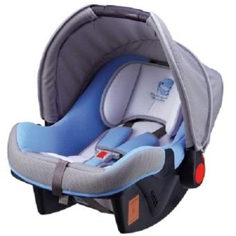 Nôi xách tay kiêm ghế ngồi ô tô cho bé Kuku KU-6031 (Xanh)