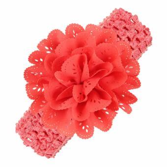Băng đô handmade Ant Home 02 cho bé yêu (Đỏ cam)