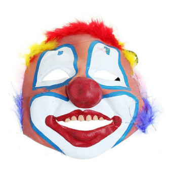 Funny Soft Rubber Clown Mask For Halloween Cosplay Party Carnival Masquerade - intl