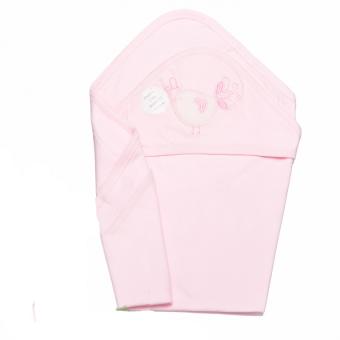 Chăn ủ cotton 2 lớp Lullabybaby (Hồng)