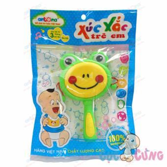 Xúc xắc trẻ em hình trống - mặt ếch