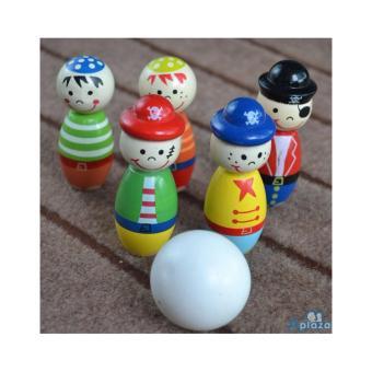 Đồ chơi gỗ dạng Bowling cho bé AYX0028H