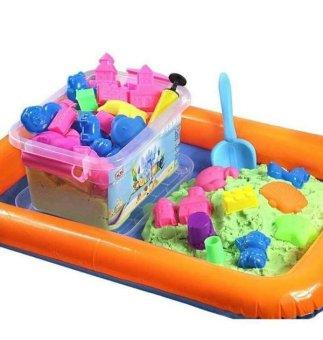 Bộ bể khuôn cát nặn Clever Mart tăng khả năng sáng tạo cho bé (Hồng)