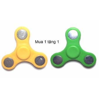 Con quay đồ chơi giải tỏa áp lực 3 cánh bebe mart H-03(Vàng)Mua 1 tặng 1