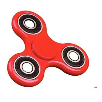 Đồ Chơi Giúp Xả Stress Fidget Spinner 3 bạc đạn Trắng (đỏ)