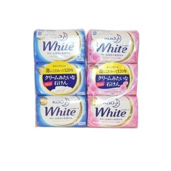 Bộ 2 bánh xà phòng tắm KAO White - Sản xuất tại Nhật Bản
