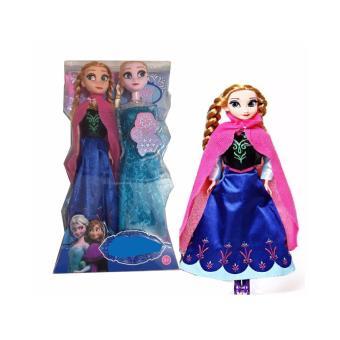 Bộ 2 Búp Bê Kiểu Dáng Công Chúa Anna&Elsa (Xanh)
