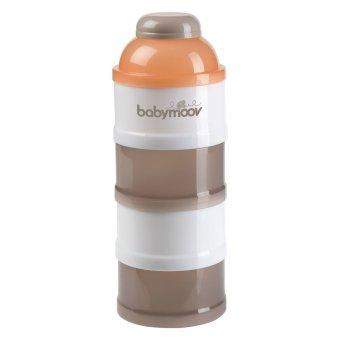 Hộp chia sữa 4 tầng Babymoov BM01118 (cam)