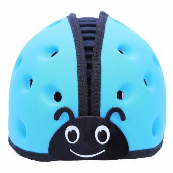 Mũ Bảo Vệ Đầu Cho Bé Guardian Angel Hình Bọ Cánh Cam ( màu xanh)