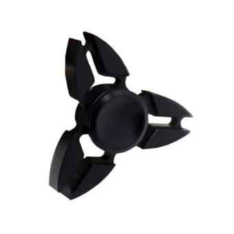 Con quay 3 cánh Fidget Spinner Sakura cao cấp xả stress màu đen ( Hàng chất lượng loại 1)