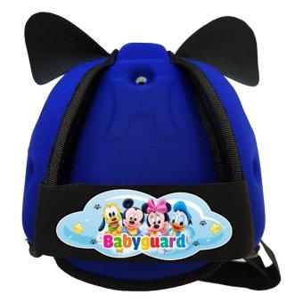 Mũ Bảo Vệ Đầu Cho Bé BabyGuard logo mickey
